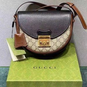 GUCCI Gucci Padlock Series Small Shoulder Bag Wome